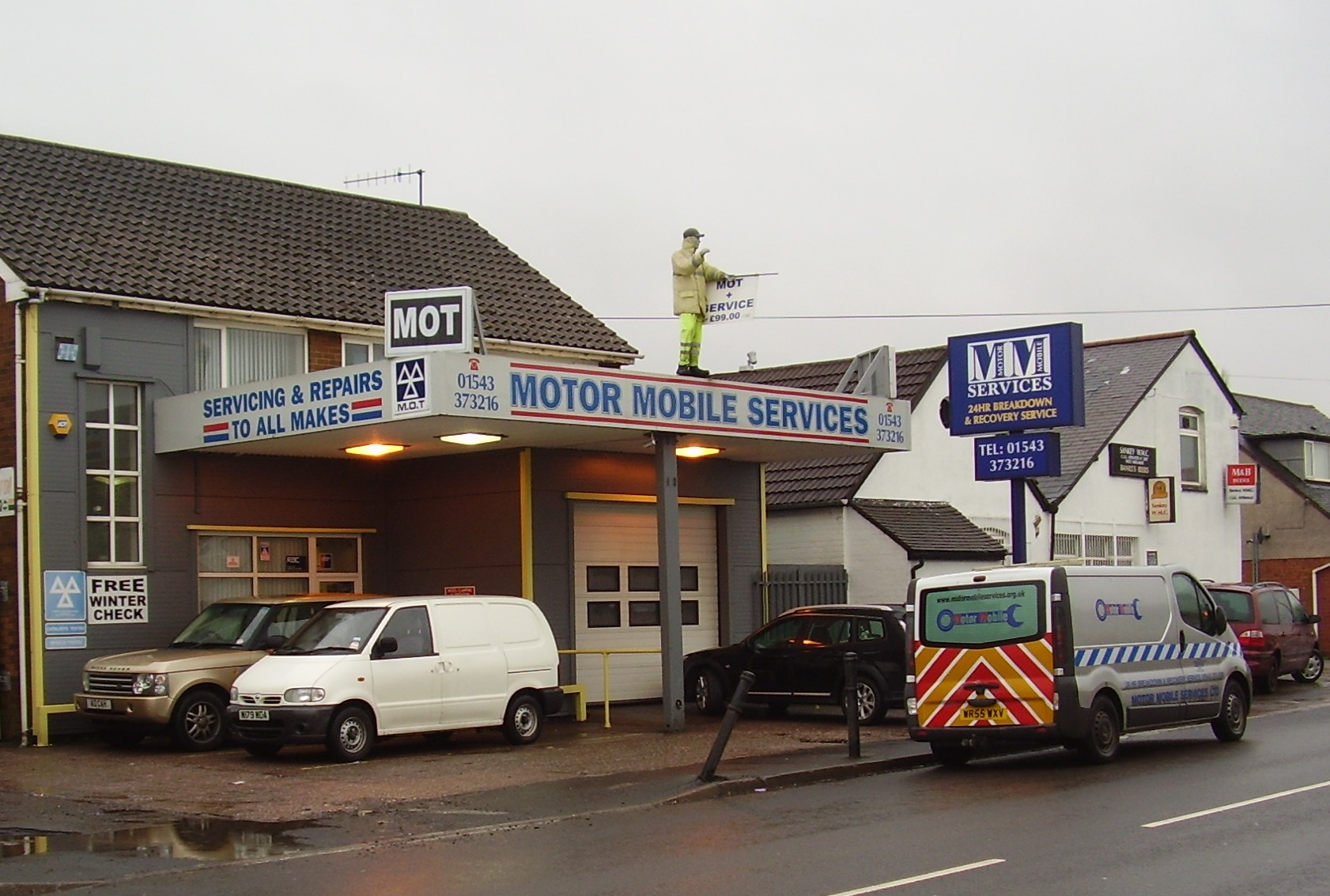 Boston Garage Mot Lost Petrol Stations In Walsall Wood And Brownhills