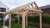 Oak Gazebo & Oak Framed Car Ports | Wooden Gazebos | Oak ...
