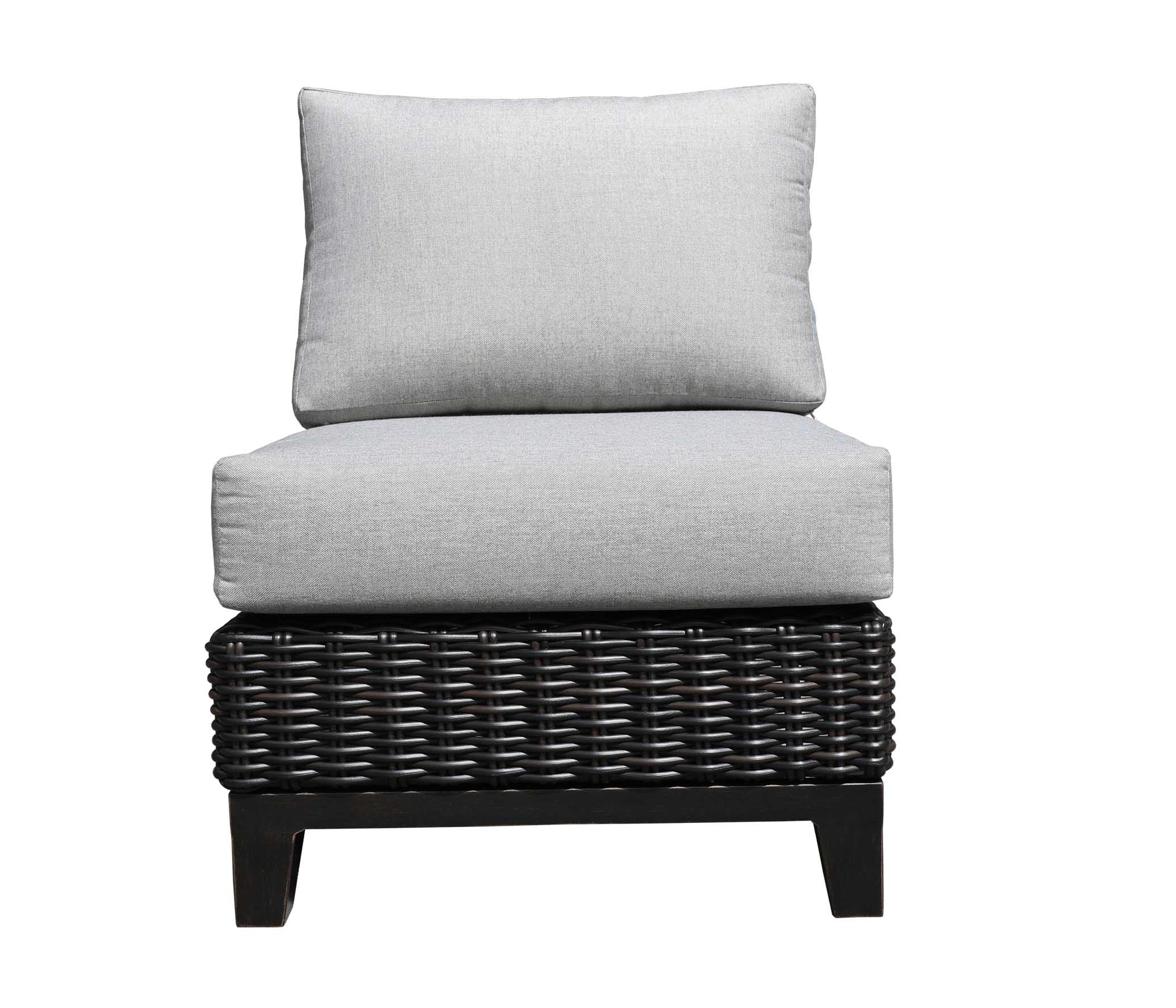 Oakville Outdoor Furniture Aubrey Slipper Chair 9444 Patio Furniture Wicker