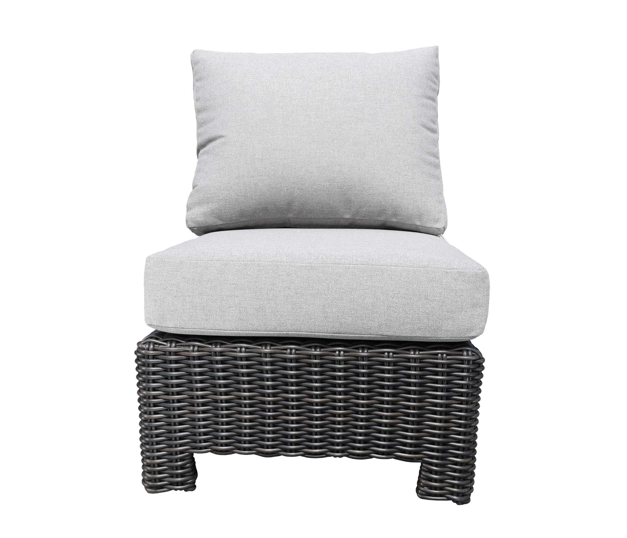 Oakville Outdoor Furniture Monterrey Slipper Chair 9432 Patio Furniture Wicker