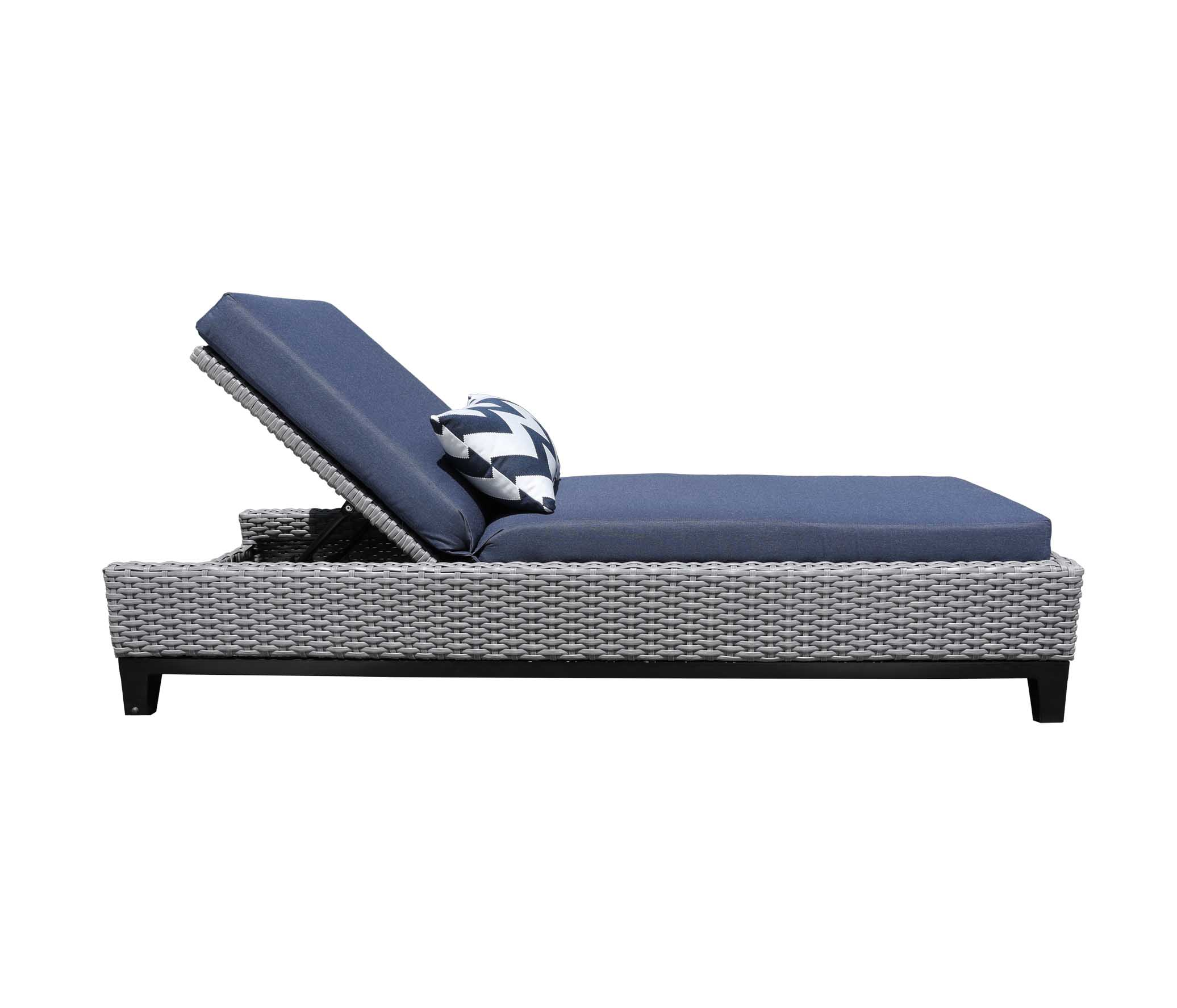 Oakville Outdoor Furniture Tribeca Chaise Lounge 9427 Patio Furniture Wicker