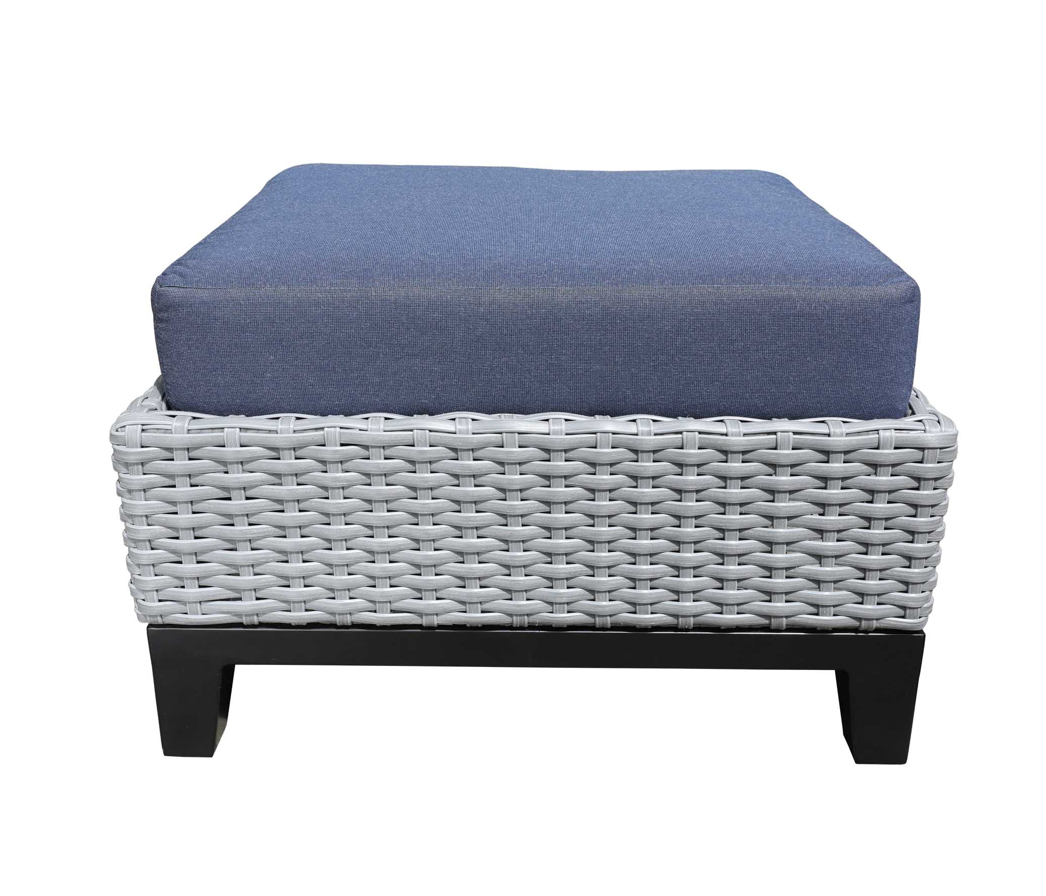 Oakville Outdoor Furniture Tribeca Ottoman 9423 Patio Furniture Wicker Tribeca