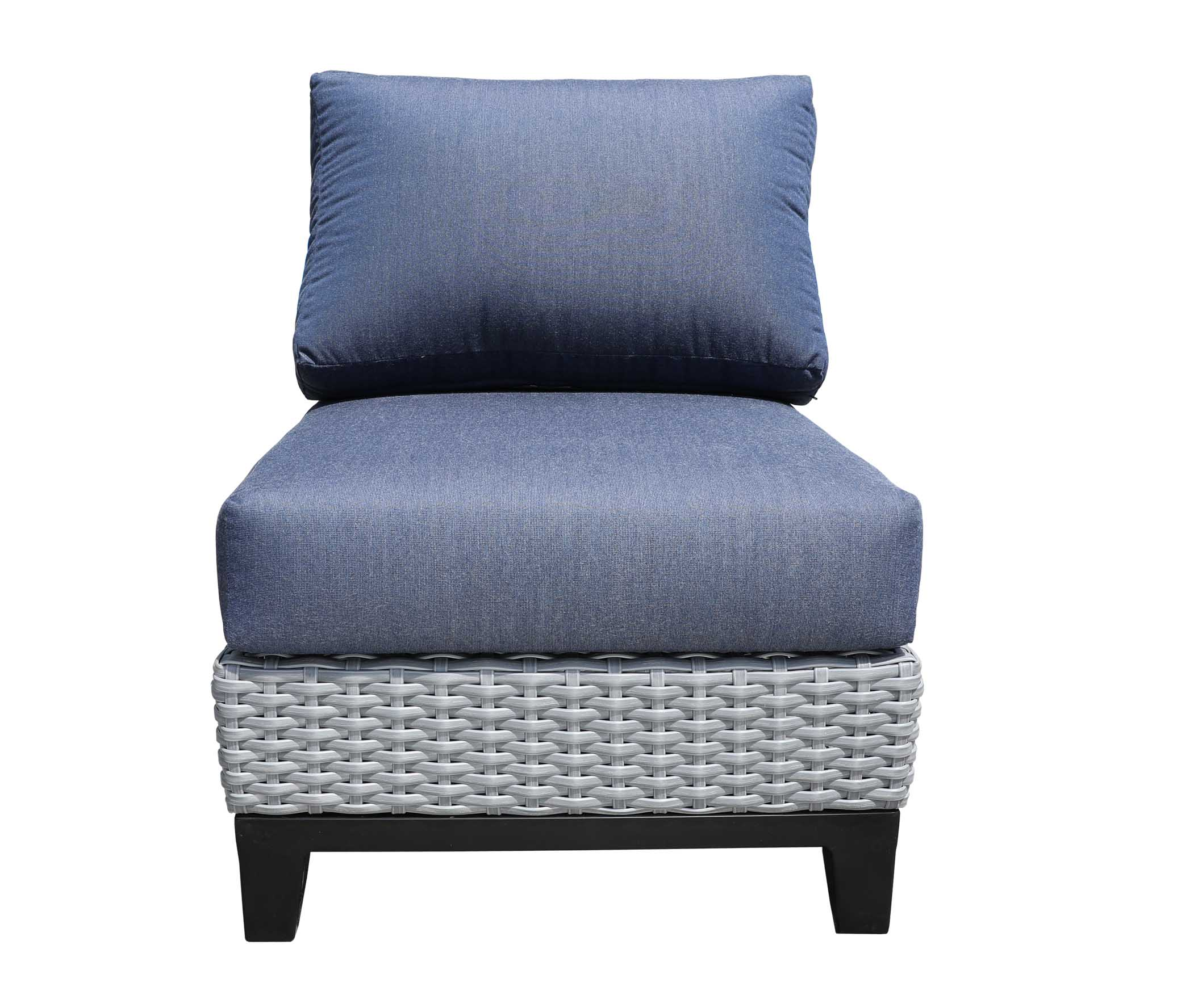 Oakville Outdoor Furniture Tribeca Slipper Chair 9419 Patio Furniture Wicker