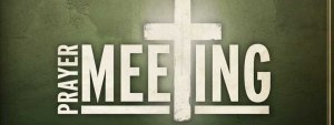Prayer Meeting @ Room 108 (Lower Level) | Kalamazoo | Michigan | United States