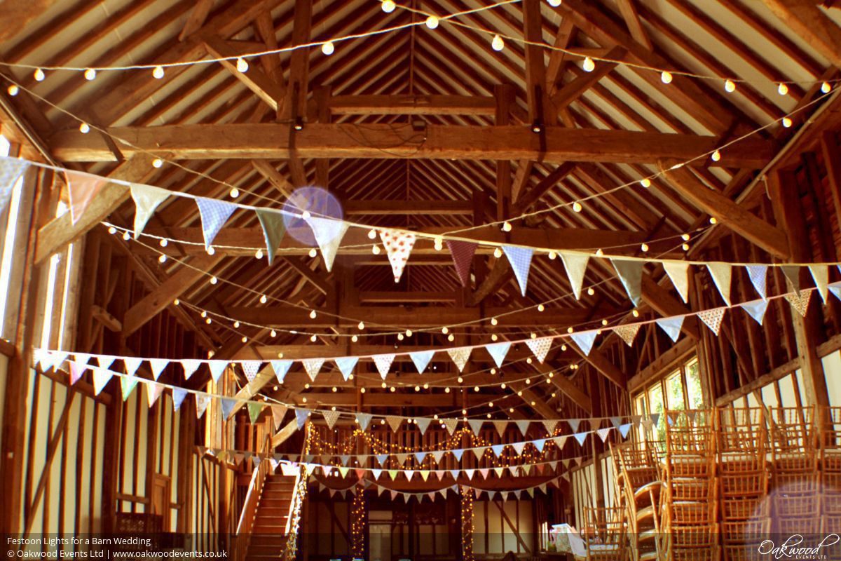 Verlichting Lampjes Barn Lighting Hire | Wedding And Event Lighting By Oakwood