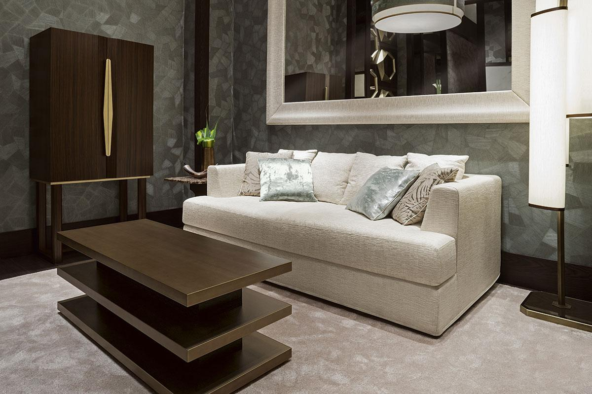 Sofa Beige Jade Lagoon Living Room - Oasis Group