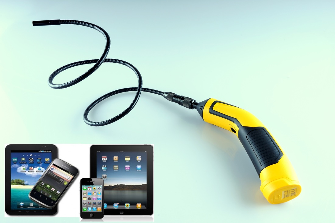 Wireless Inspection Camera 9mm Flexible Inspection Camera For Iphone Android Oasis