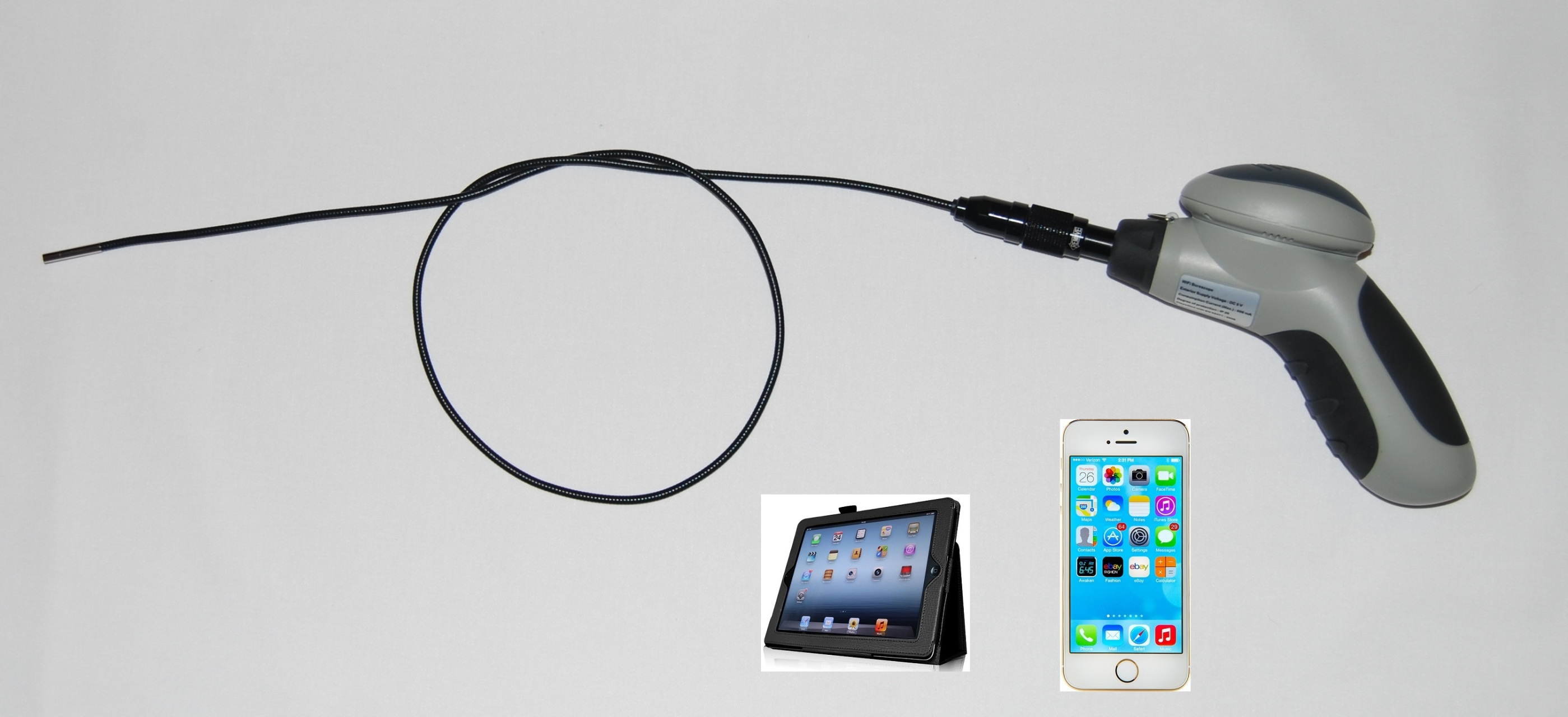 Wireless Inspection Camera 3 9mm Flexible Inspection Camera For Iphone Android Oasis