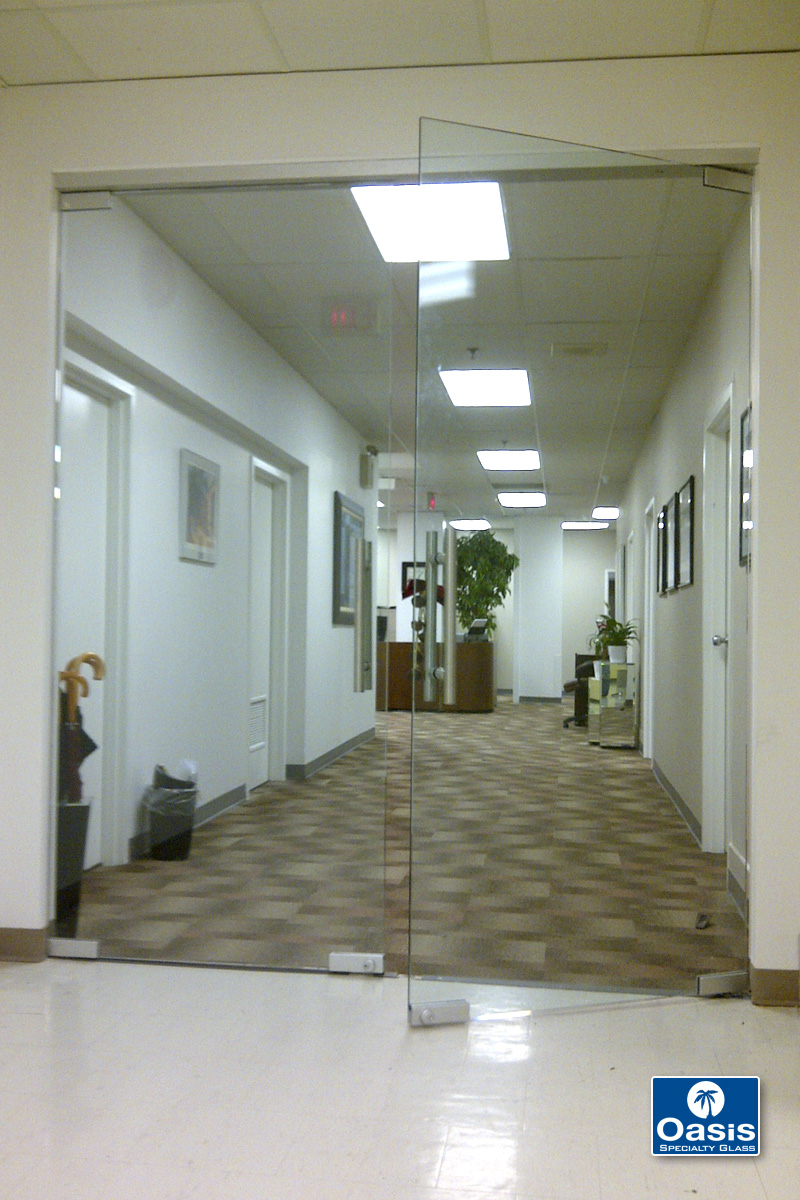 Glass Entry Doors All Glass Entry Systems Interior Office Doors Oasis Specialty