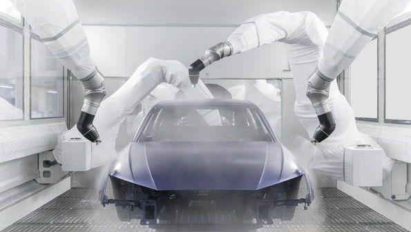 Audi uruchomiło nową, wydajną lakiernię