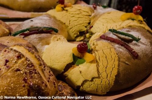 Celebrated and tasty Rosca de Reyes
