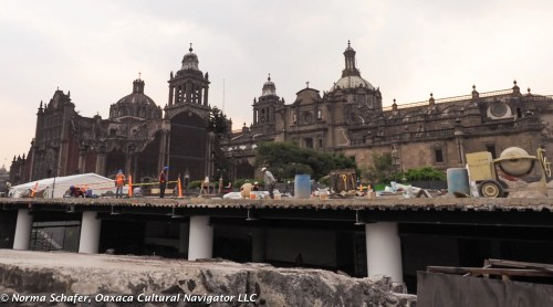 Tenochtitlan under the Cathedral, Mexico City