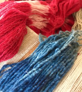 CochinealIndigoYarn