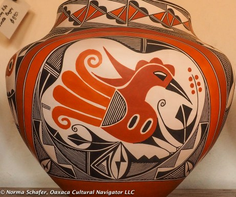 Beautiful pottery comes from this region