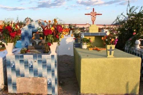 Mineral de Pozos, Guanajuato cemetery, by Nick Hamblen