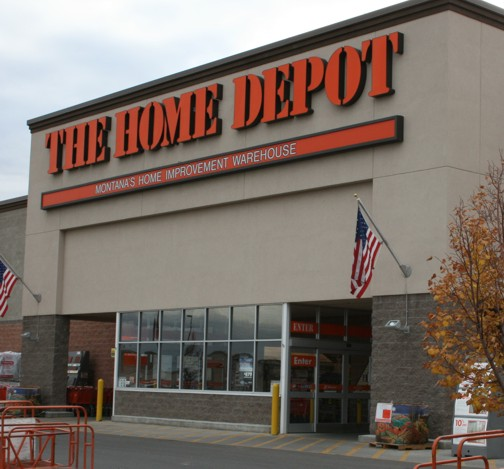 home depot stores products