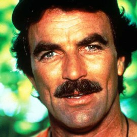 Tom Selleck Bigode Militar