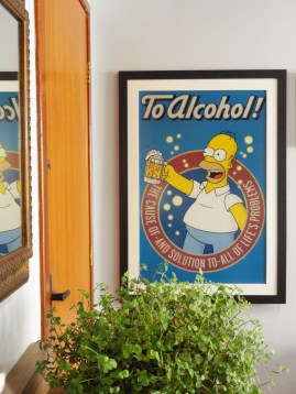 Poster do Homer no Barbeiro
