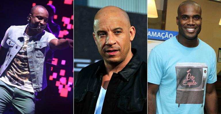 Thiaguinho, Rafael Zulu e Vin Diesel fazem sucesso com o público feminino