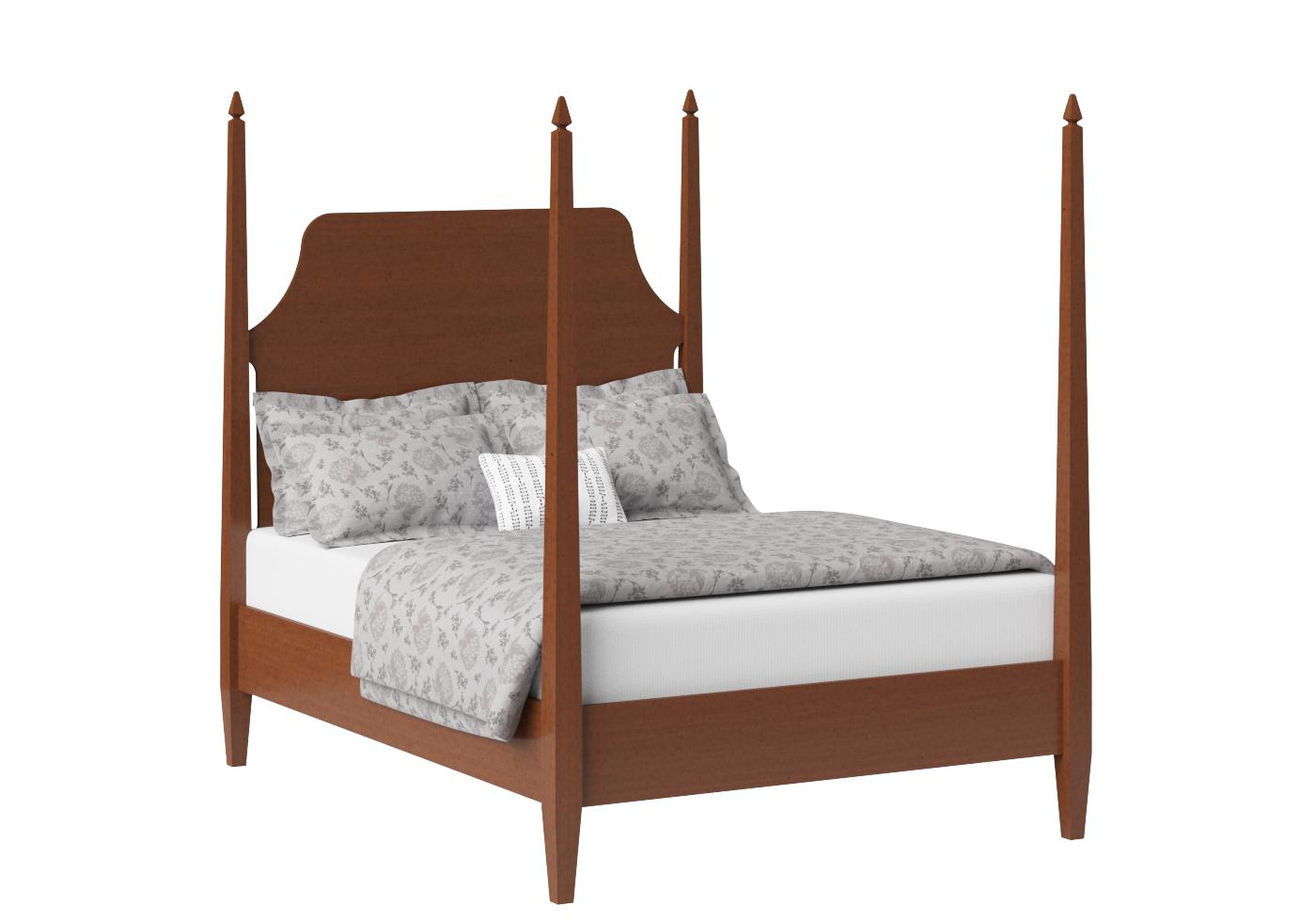 Wood Four Poster Beds Turner Wood Bedstead The Original Bedstead Company