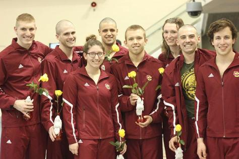Successful Swimming and Diving Season Comes to an End