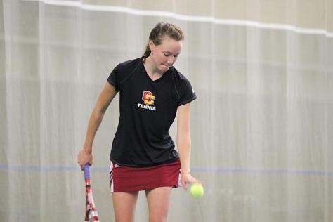 Women's Tennis Struggles Against Ranked Foe