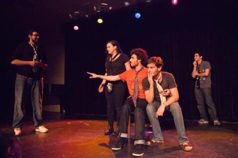 Feature Photo: Parents Weekend Improv Showcase