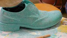 1ère chaussure magnifique pour Matteo