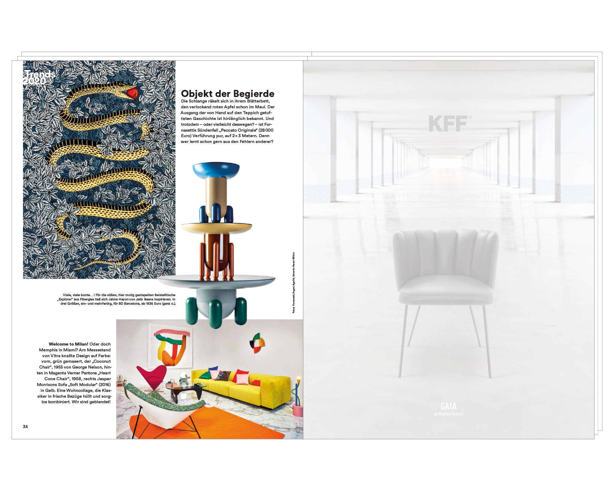 Was Ist Ein Bd Objects With Love Press Ad Architectural Digest Choice