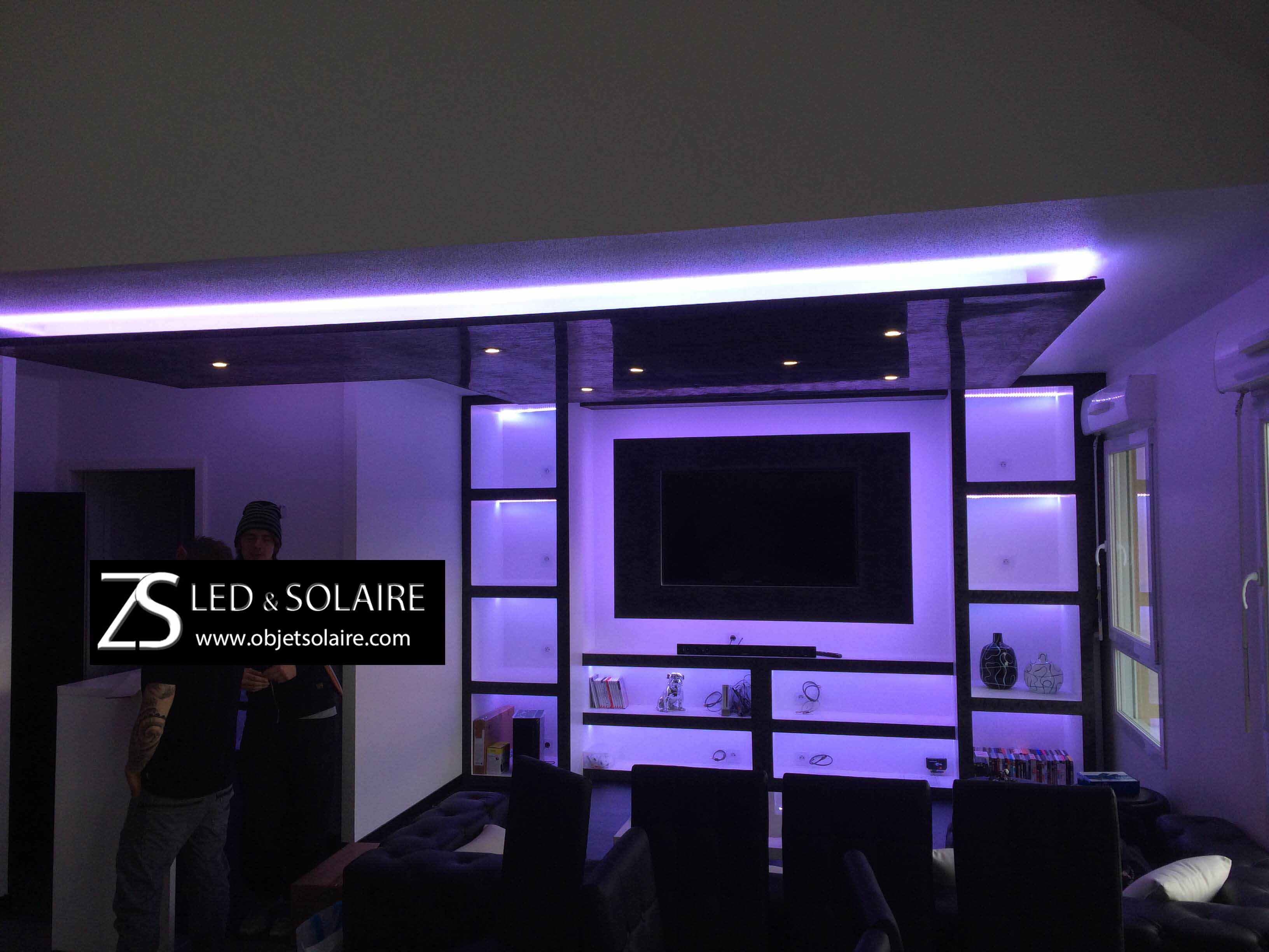 Bande Eclairage Led Interieur Ruban Led Rgb Qualité Professionnelle Epistar 24v