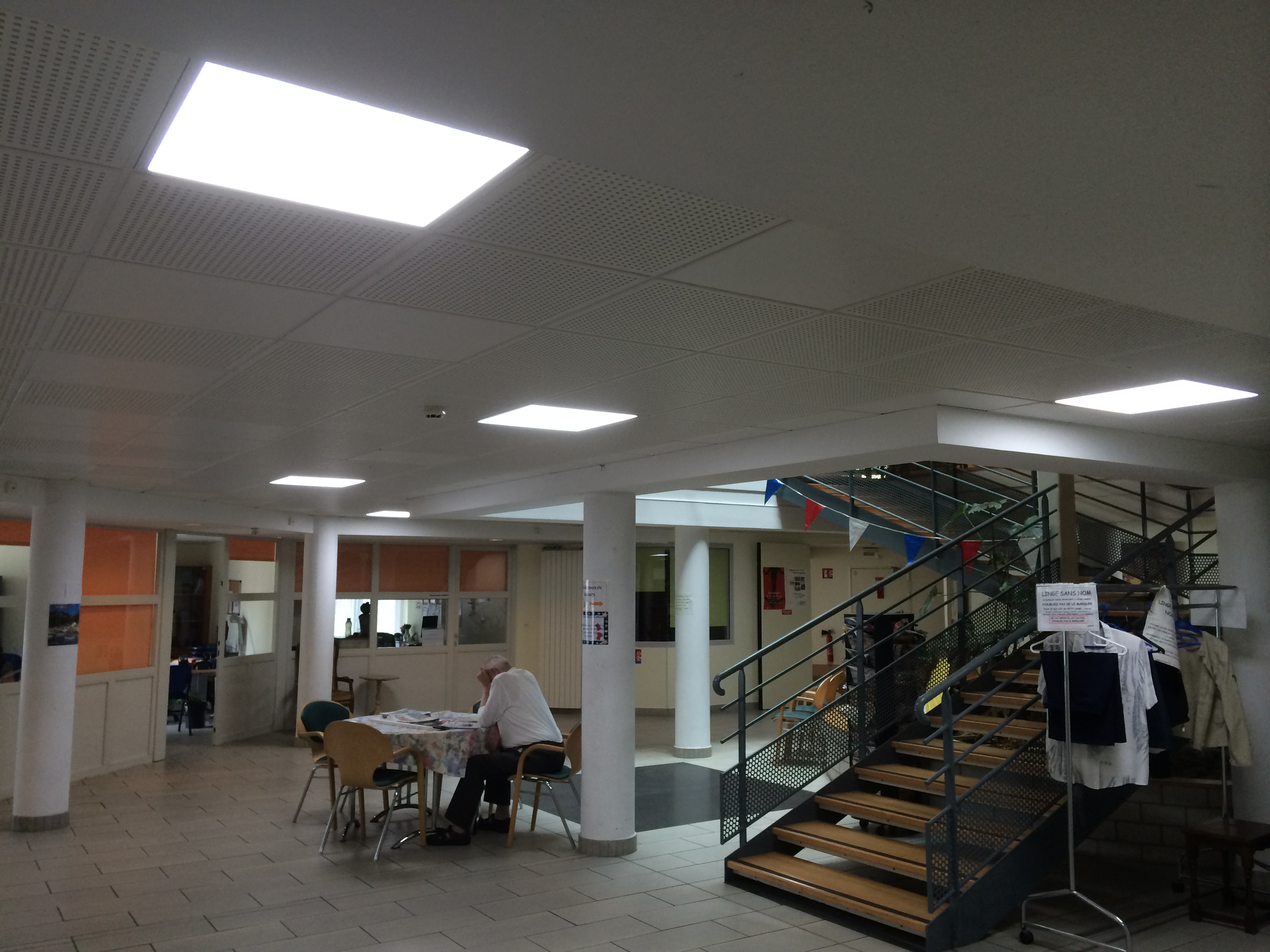 Eclairage Dalle Led Dalle Led Faux Plafond 60 X 60 40w 4500k