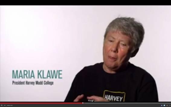 Maria Kalwe, rectora del Harvey Mudd College