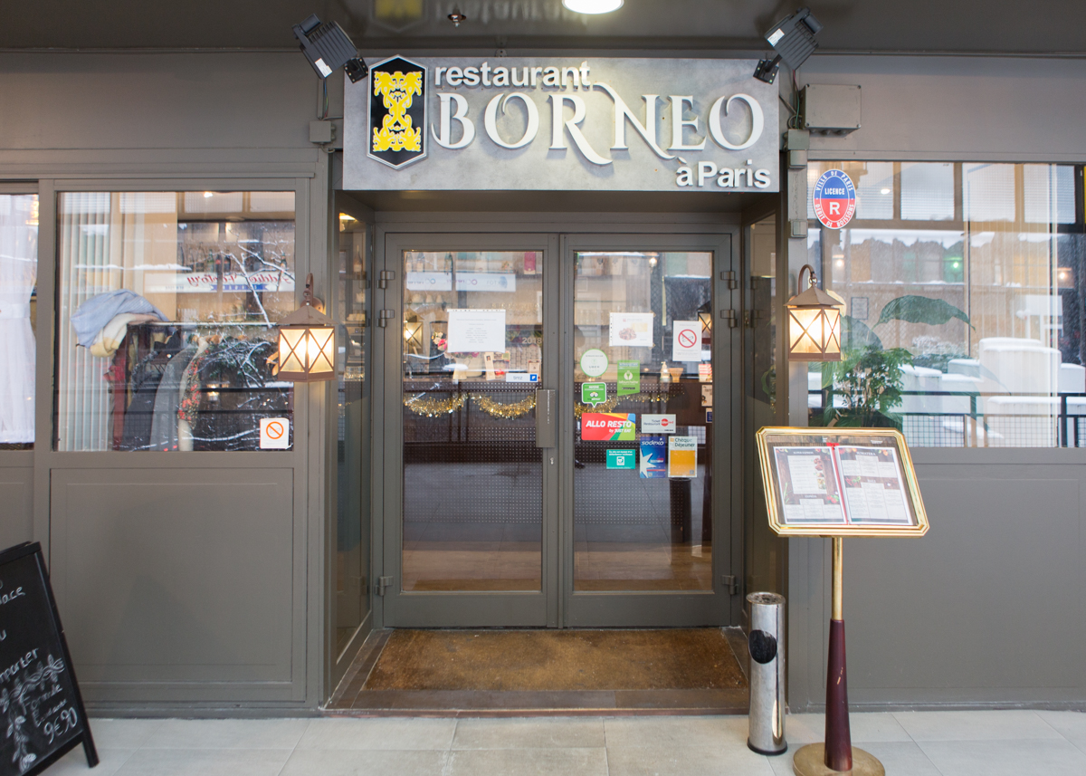 Resto Dans Paris Authentic Indonesian Restaurant Borneo à Paris O Bon Paris
