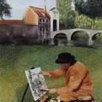 El concurso de pintura