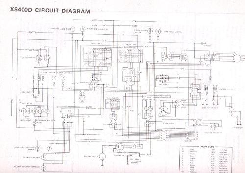 1977 yamaha xs 650 wiring diagram