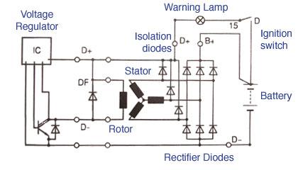 10kw Standby Generator Wiring Diagram Alternator Magneti Marelli Italy Hella Ca889ir