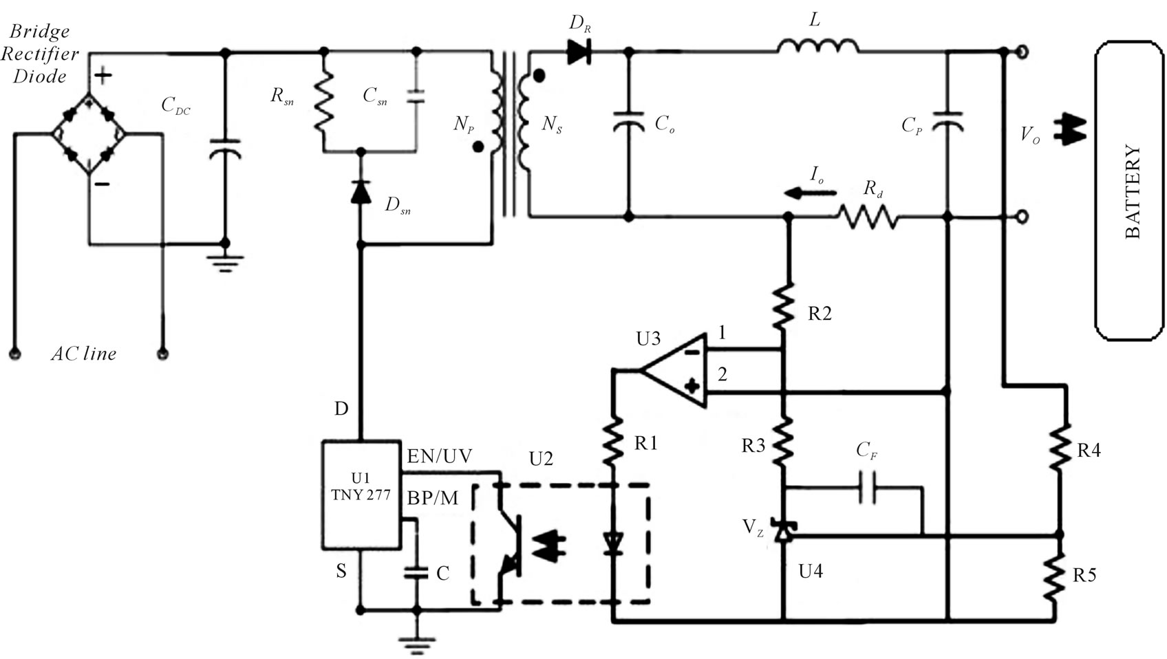 led constant current driver circuit