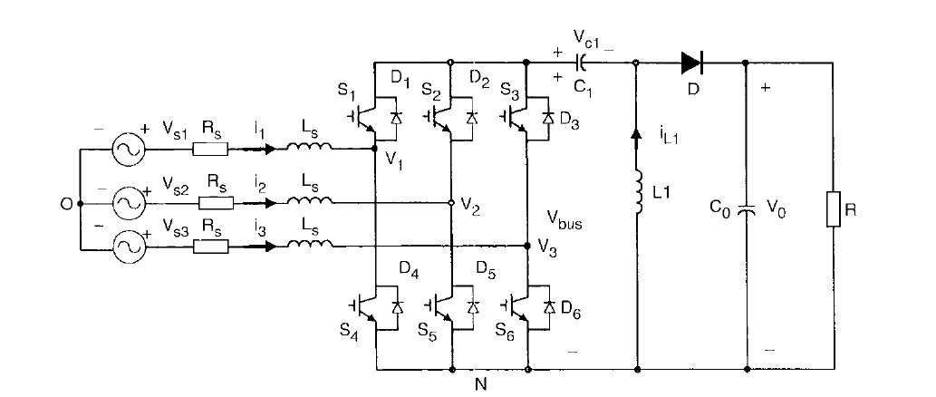 buckboost converter circuit