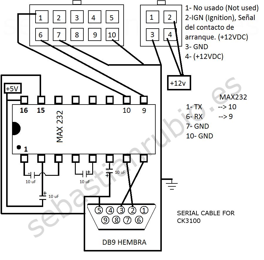 parrot hands wiring diagram ck3100