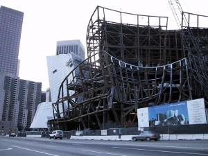 Walt Disney Concert Hall in 2000