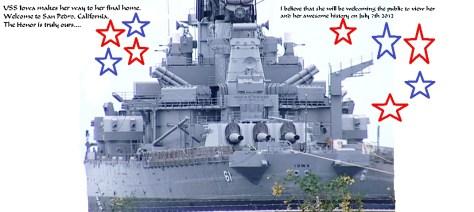 USS Iowa, San Pedro, California 2012