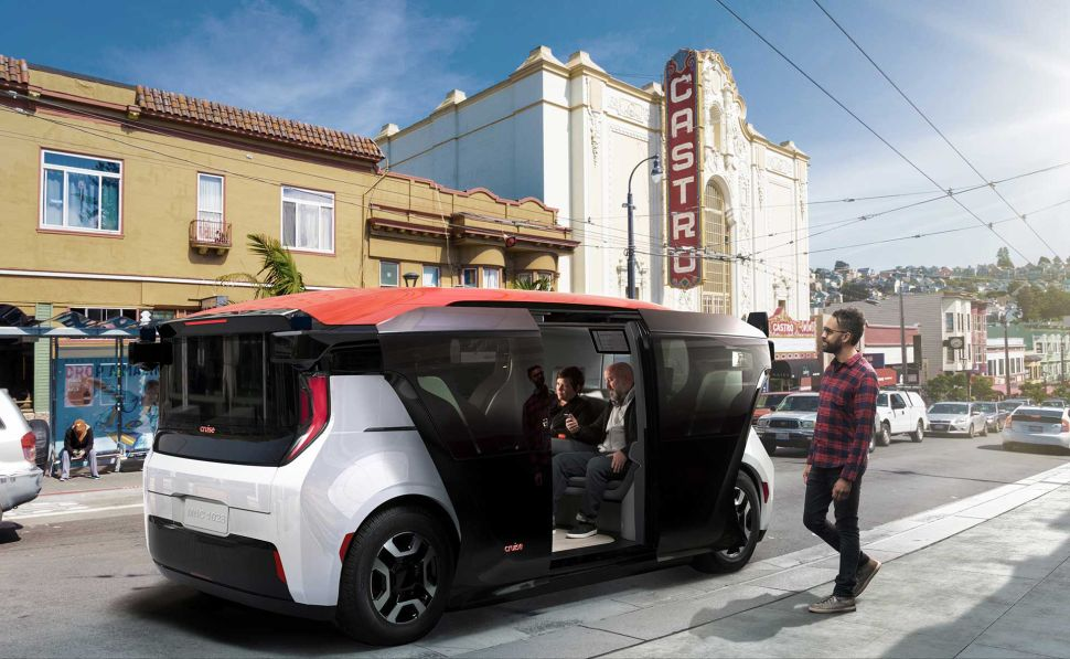 Car Shuttle New York Gm's Self Driving Car Will The Origin Replace Uber