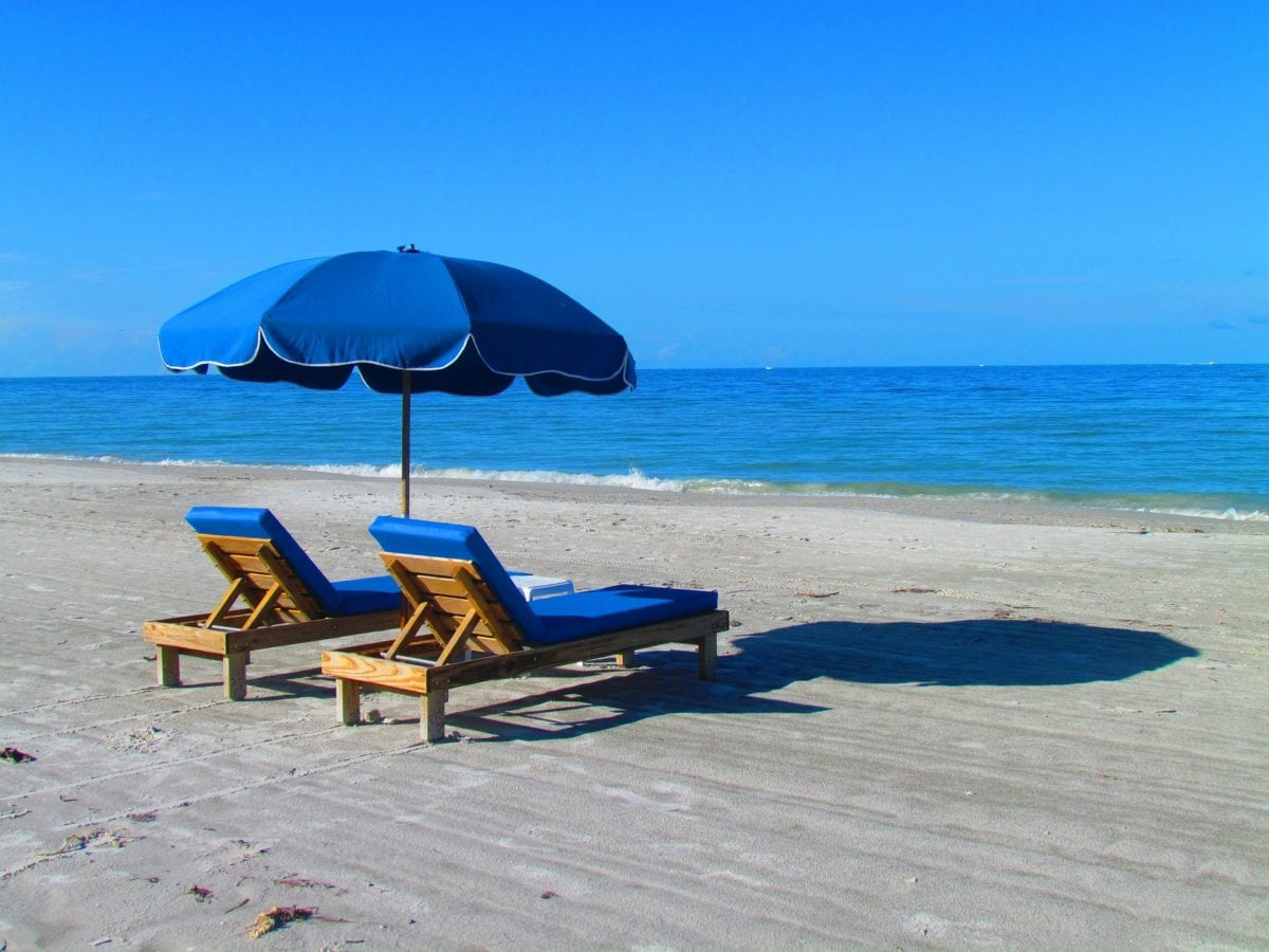 Choose Our Beach Umbrella Service When Staying Oceanfront
