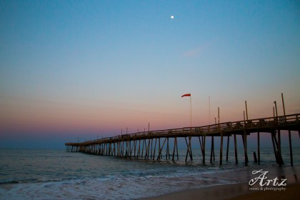 Kill Devil Hills beach at sunset, 3-11-17, photo by Matt Artz_0004