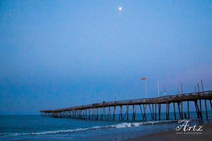 Kill Devil Hills beach at sunset, 3-11-17, photo by Matt Artz_0005