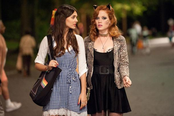 Victoria Justice and Jane Levy star in the Halloween teen comedy 'Fun Size'.