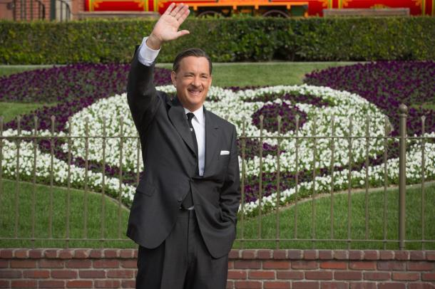 Tom Hanks is Walt Disney in 'Saving Mr. Banks'.