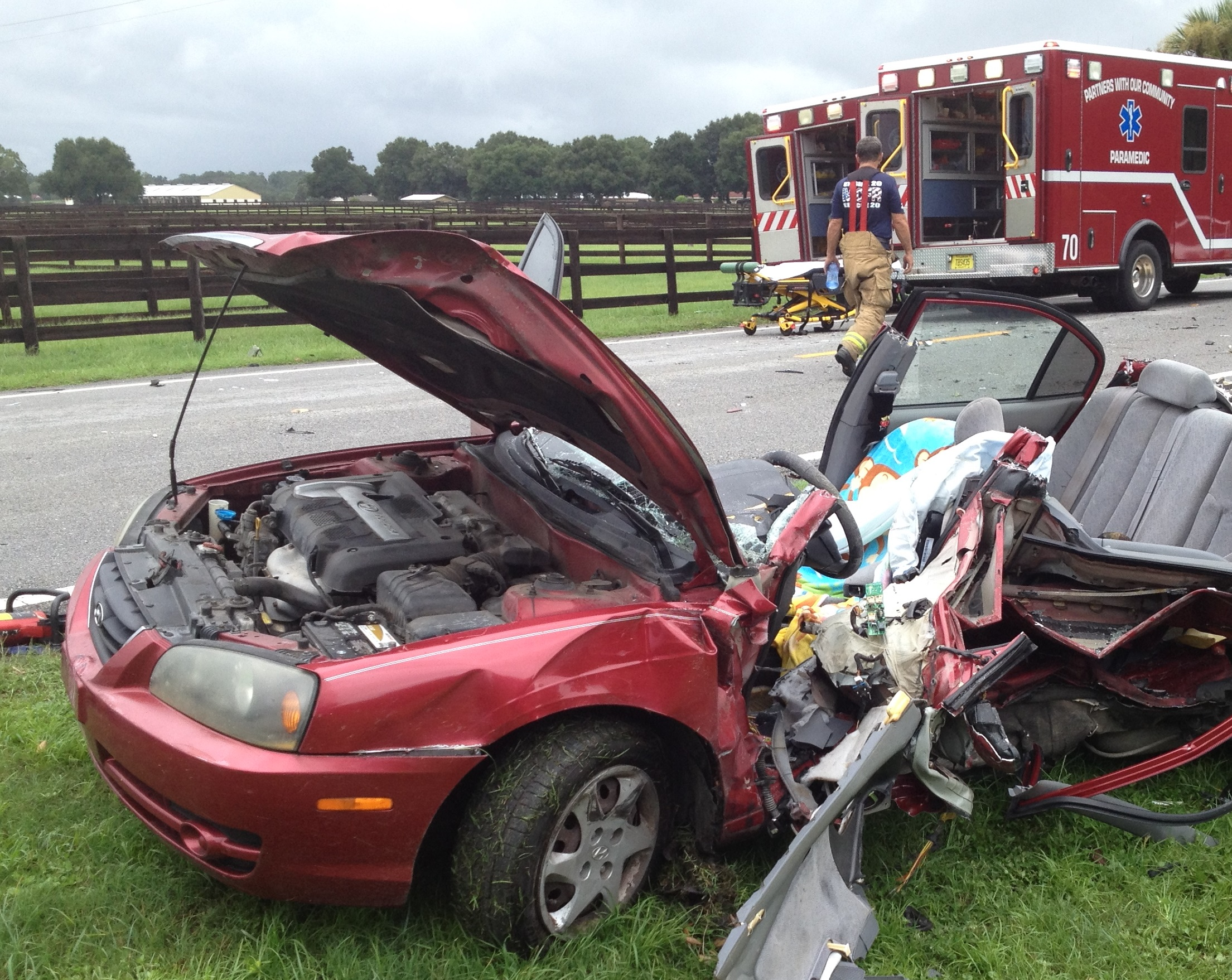 Injured In Accident Ocala Post Two Critically Injured In Accident On 225a