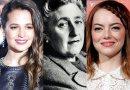 Alicia Vikander e Emma Stone estão de olho em cinebiografias de Agatha Christie