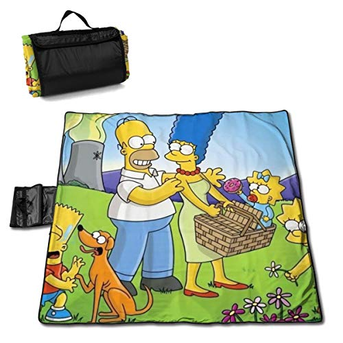 Top 10 Simpsons Bettwäsche Picknickdecken Ocartta